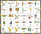 Alfabeto egípcio