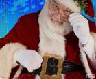 Papai Noel observada