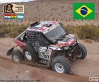 Leandro Torres e Lourival Roldan Campeões na nova categoria UTV Dakar 2017
