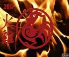 Galo de fogo 2017
