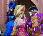 Traje clássico veneziano