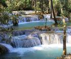 Cachoeiras de Kuang Si, Laos