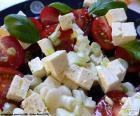 Salada de queijo