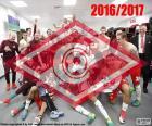 Spartak Moscou, campeão 2016-17