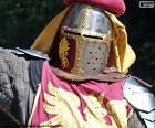 Capacete de cavaleiro