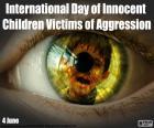 Dia Internacional das Crianças Inocentes Vítimas de Agressão