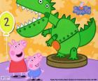 Peppa Pig e o dinossauro