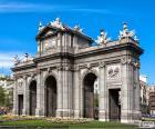 Porta de Alcalá, Madrid