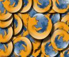 Logotipo do Mozilla Firefox, um navegador web gratuito desenvolvido para Linux, Android, IOS, OS X e Microsoft Windows