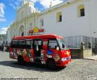 Antigua City Tour, ônibus