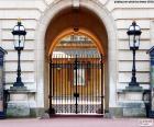 Entrada para o Palácio de Buckingham