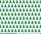 Papel árvores de Natal