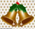 Dois sinos de Natal