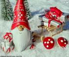 Papai Noel, enfeite de Natal
