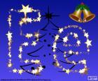Natal com a letra E