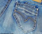 Jeans o calças de ganga
