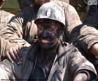 Um mineiro sorridente