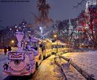 Trem do mercado de Natal