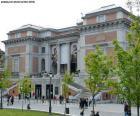 Museu do Prado, é um dos mais importantes museus de arte do mundo, Madrid, Espanha