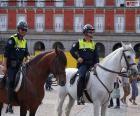 Polícia Municipal a cavalo, Madrid