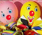 Balões de palhaço