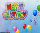 Happy Birthday, feliz aniversário