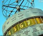 Relógio mundial, Berlim, Alemanha