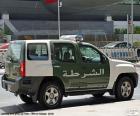 Carro de polícia de Dubai