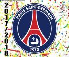 PSG, campeão Ligue 1 2017-2018
