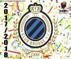 Club Brugge KV é o campeão da Pro League 2017-2018, a primeira divisão do futebol profissional na Bélgica