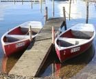 Dois barcos a remos