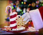 Papai Noel e doces