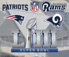 New England Patriots vs. Los Angeles Ram, Super Bowl 2019, no estádio Mercedes-Benz, Atlanta, Geórgia, domingo 3 de fevereiro de 2019