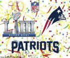 New England Patriots são os campeões do Super Bowl de 2019. Eles venceram na final de Los Angeles Rams por 13-3