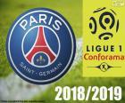 PSG, campeão 2018-2019