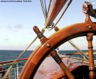 Leme do barco