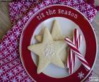 Bolinhos e bengales do Natal