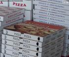 Caixas para pizzas em casa