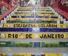 Escadaria Selarón, Brasil
