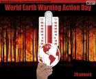 Dia Mundial de Ação contra o Aquecimento da Terra