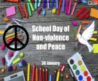 Dia escolar de paz e não-violência