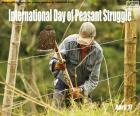 Dia Mundial da Luta Dos Camponeses