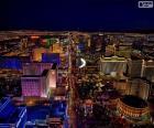 Las Vegas à noite, Estados Unidos