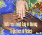 Dia Internacional da Convivência em Paz