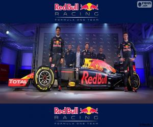 Puzle Red Bull Racing 2016