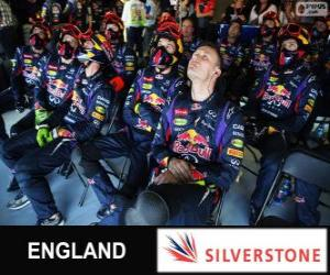 Puzle Red Bull, Silverstone, 2013