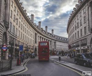 Puzle Regent Street, Londres