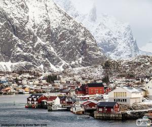 Puzle Reine, Noruega