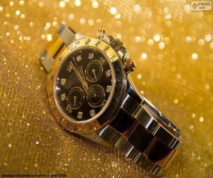 Puzle Relógio Rolex
