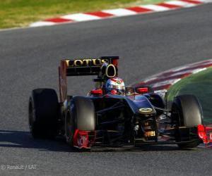 Puzle Renault R31 - 2011 -